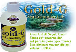 jelly gamat gold-g obat polip hidung